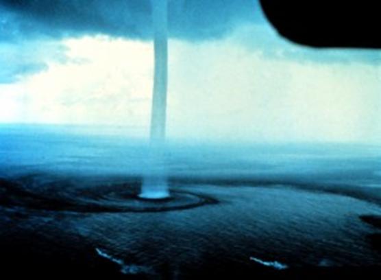 La geometría de un tornado