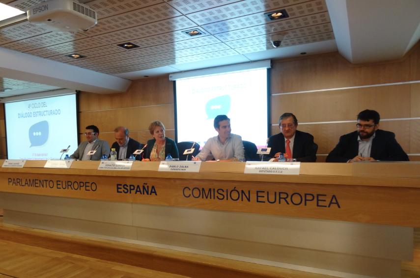 Juventud Necesaria. Los Diálogos Estructurados de la Unión Europea