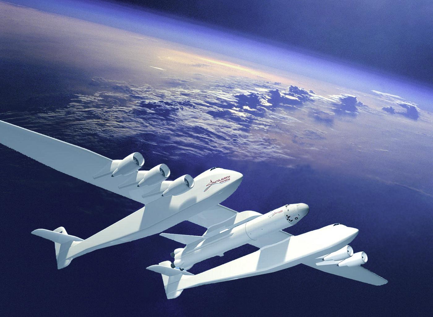 ¿Puede el Stratolaunch lanzar satélites?