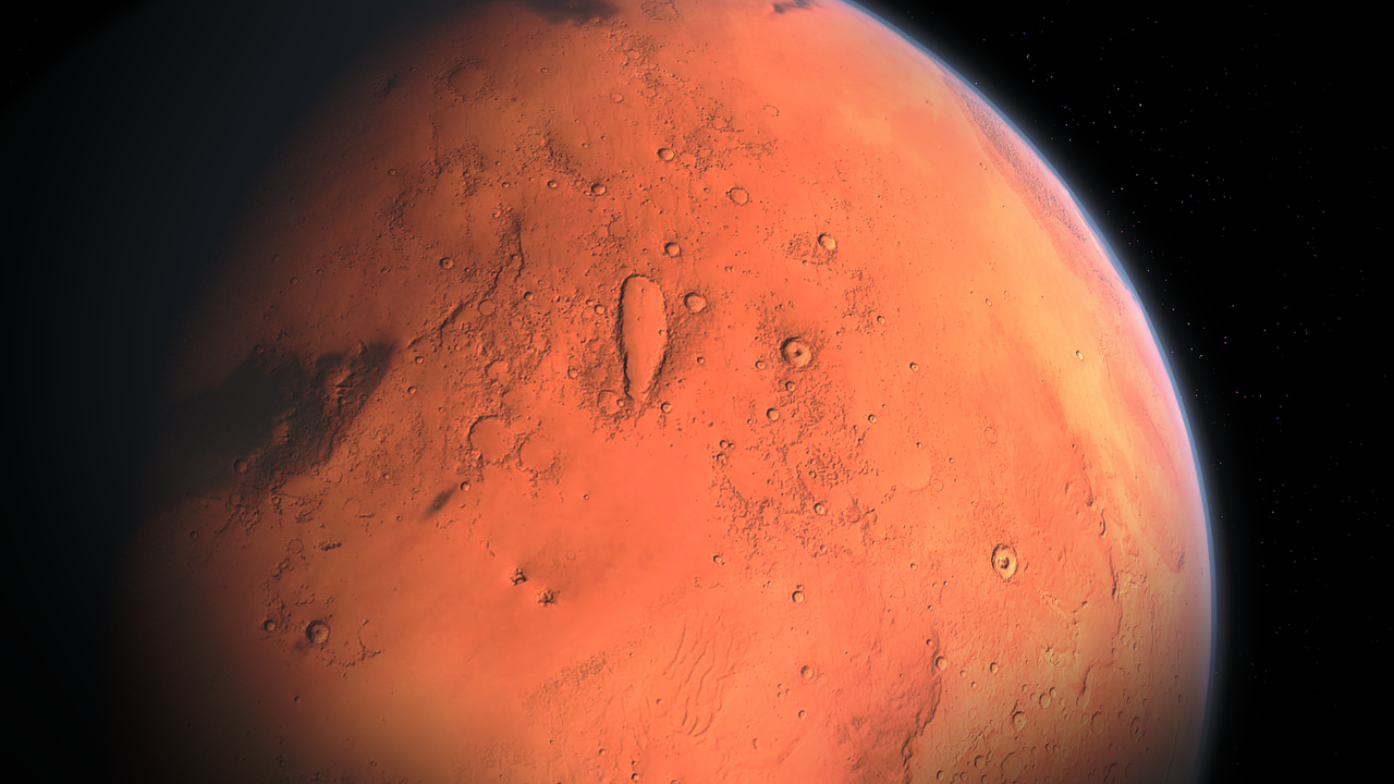 ¿Por qué tiene un color rojizo el Planeta Marte?