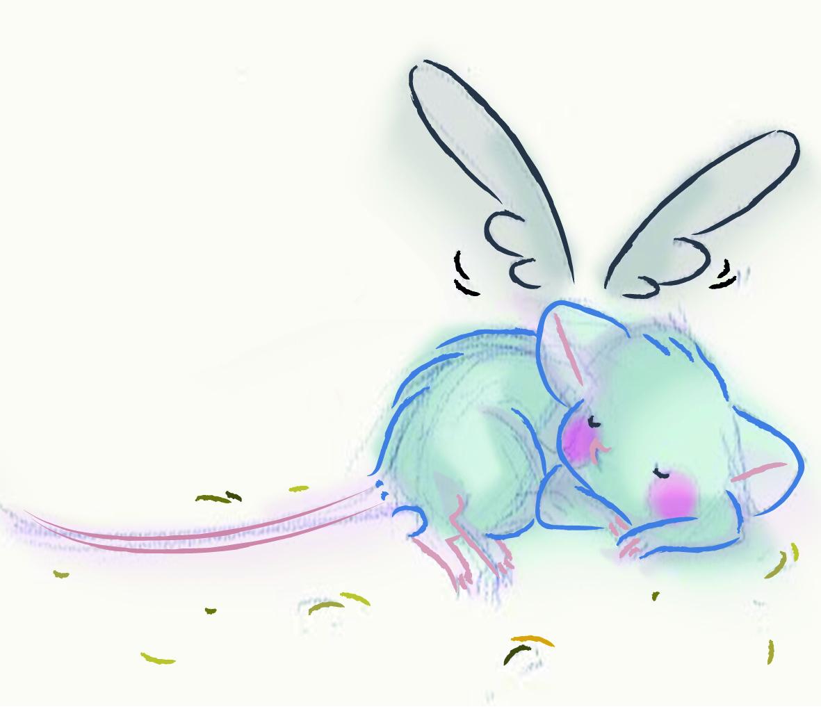 ratón angelito