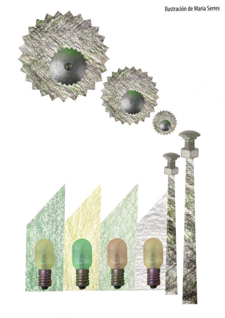 piezas que conforman una fábrica