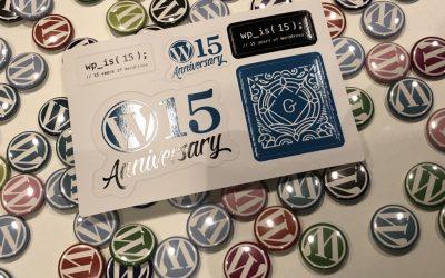 MasScience and WordPress 15th Anniversary Celebration #wp15