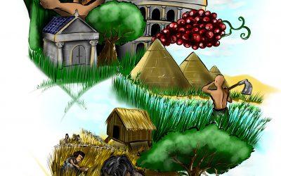 La agricultura en la máquina del tiempo