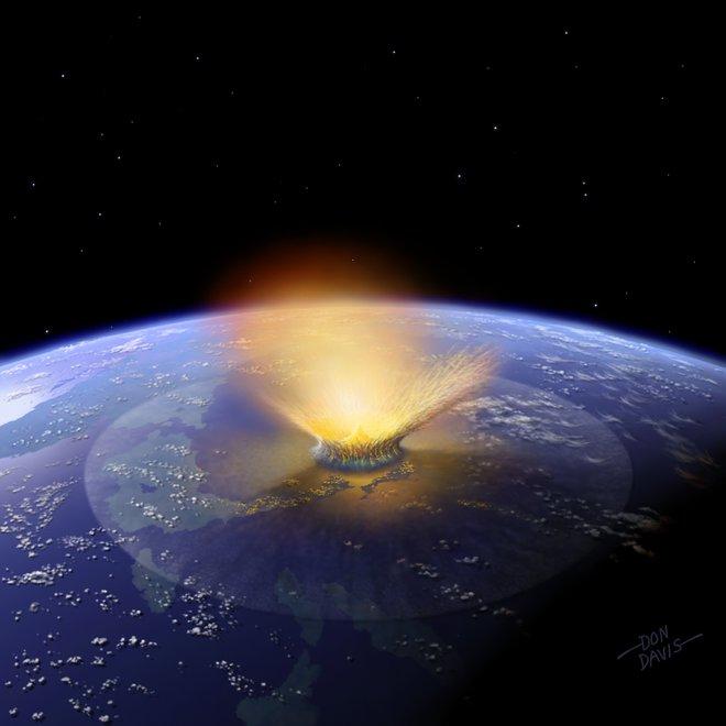 Materia oscura, cometas y dinosaurios