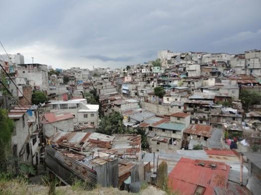 Deslizamientos en el departamento de Guatemala