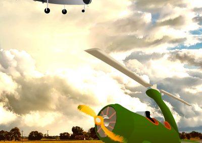 LOWEl futuro de las aeronaves Leonardo del Puerto Burk