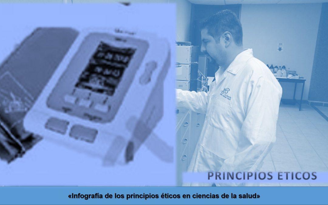 Infografía de los principios éticos en ciencias de la salud