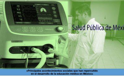 Principales acontecimientos sociales que han repercutido en el desarrollo de la educación médica en México