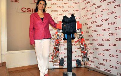 Elena García Armada. Pionera mundial en robótica pediátrica