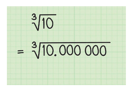 Cálculo De La Raíz Cúbica de Un Número Sin Usar Calculadora