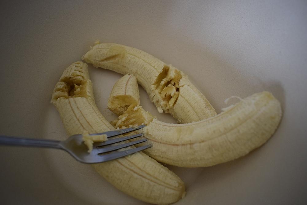 Machacando plátanos