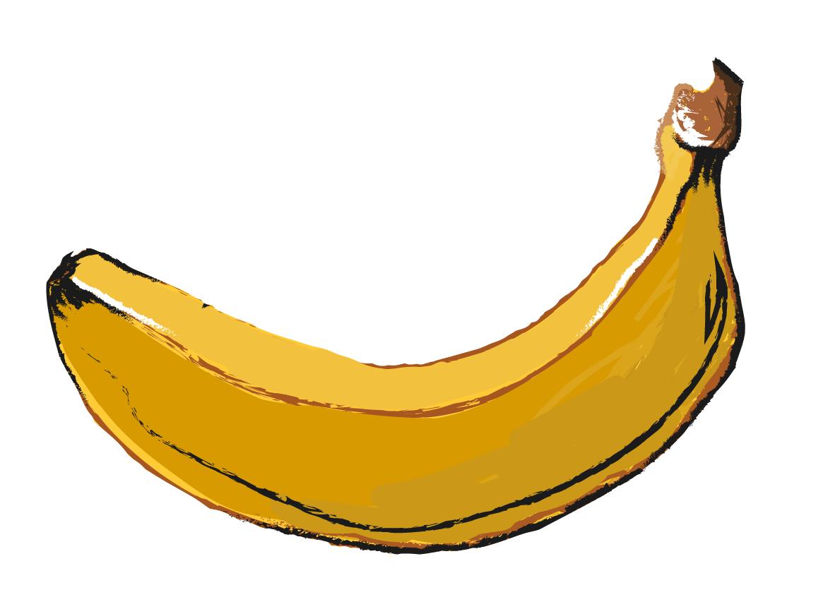 Plátano pintado