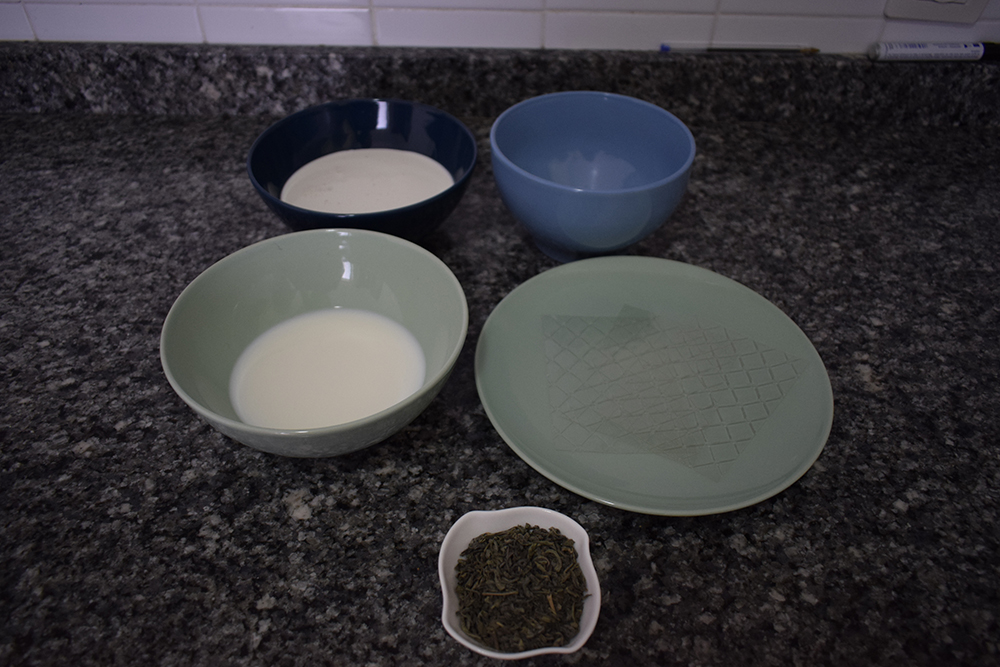 Ingredientes de la pannacotta