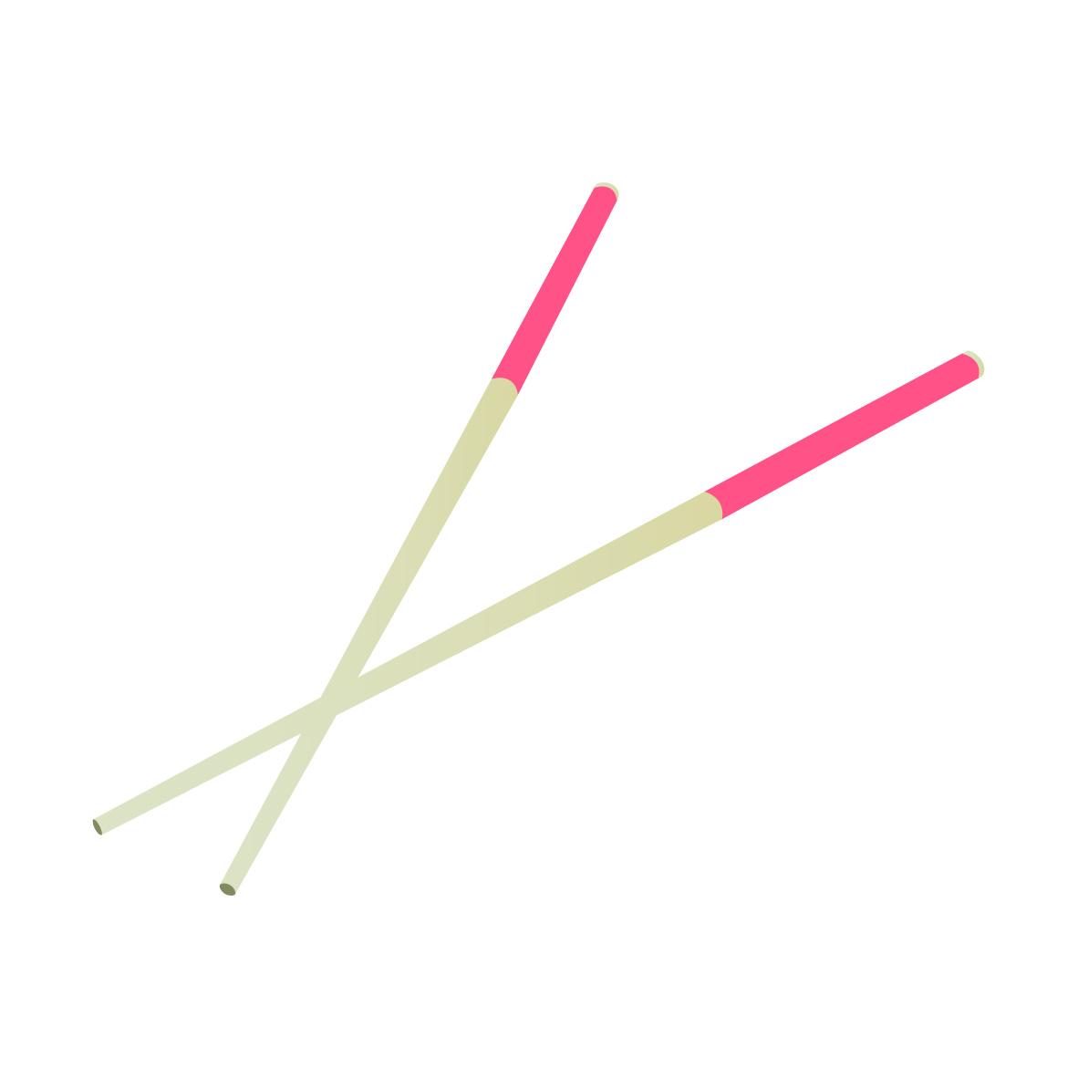 Ilustración de palillos chinos